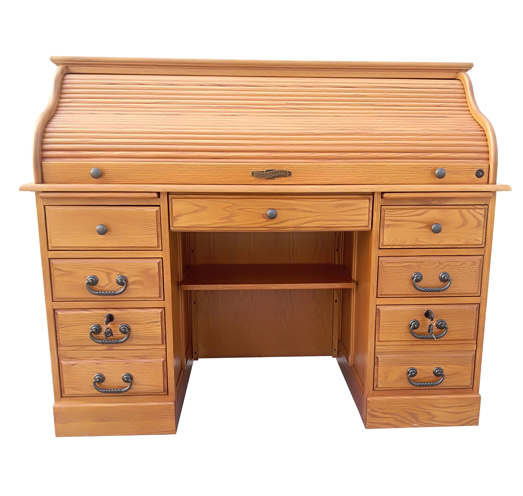 "54"" Roll Top Desk - TENNESSEE ENTERPRISES, INC."