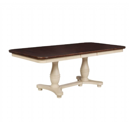Jefferson Double Ped.Table