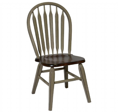 St. Helen Arrow Back Side Chair W/Tapered Leg