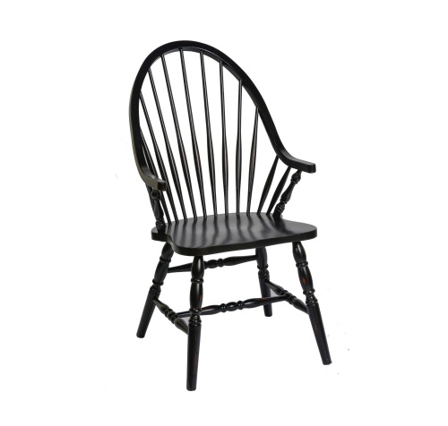 Windswept Bowback Arm Chair